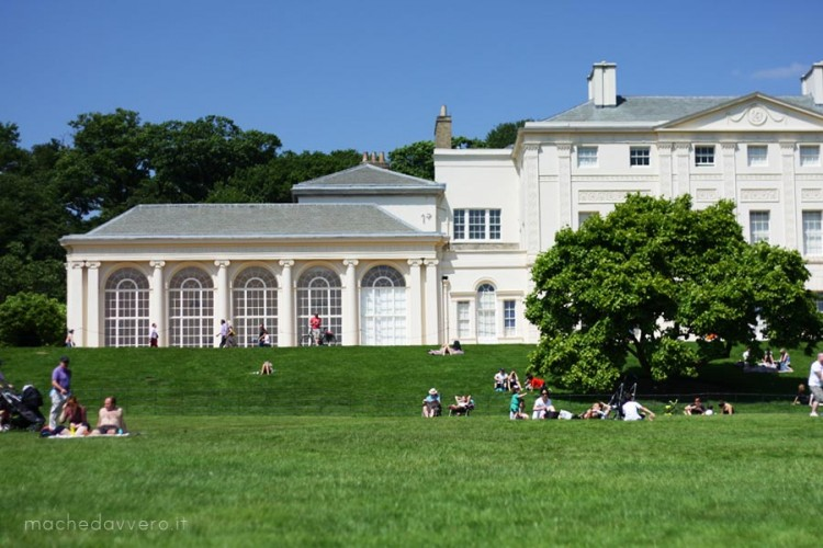 Kenwood House Hampstead London picnic park