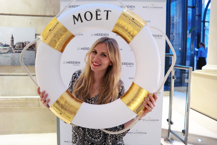 Moet Summer Terrace at Le Meridien Piccadilly - London