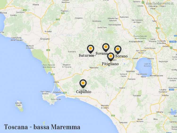 Itinerario weekend in bassa Maremma