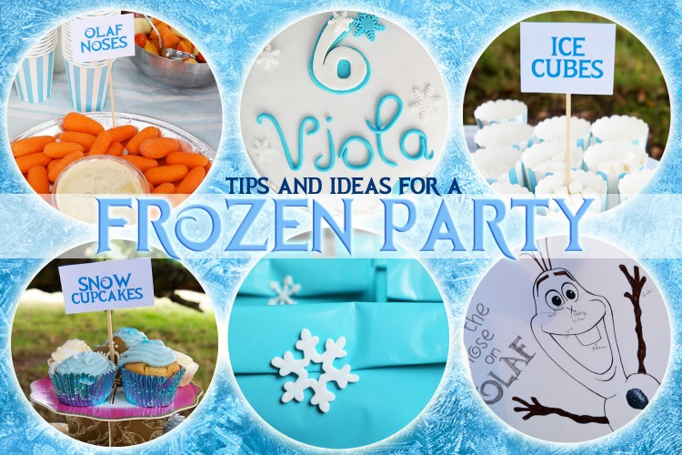Frozen Party Ideas and TIps