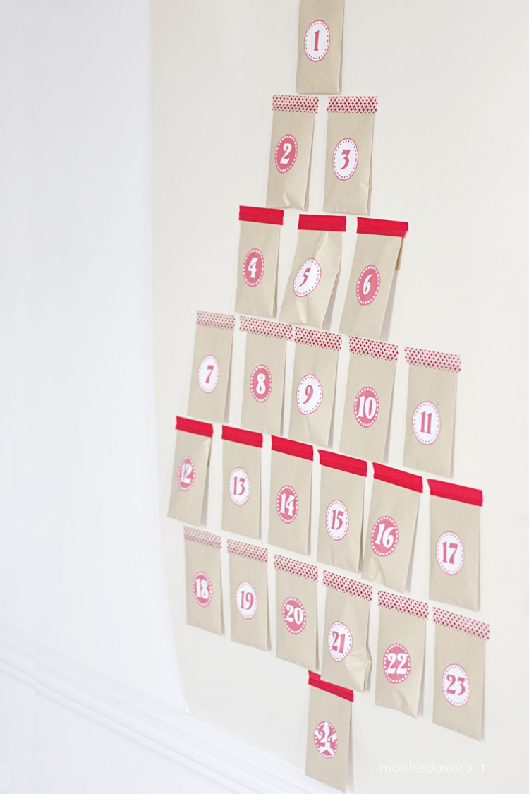 Cheap easy stylish Advent Calendar DIY