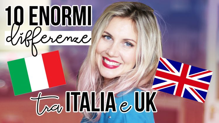 differenze vita italia uk
