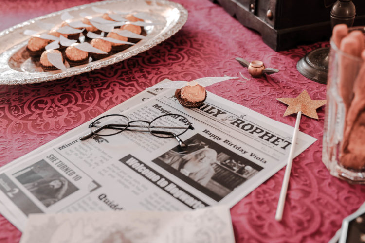 come fare una festa harry potter hogwarts
