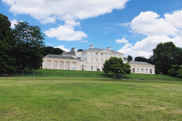 secret london: kenwood house in hampstead, an historical villa in the beautiful park of hampstead heath
