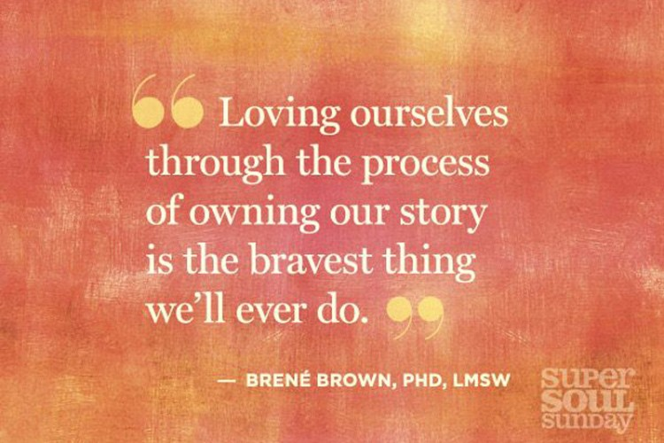 Brene Brown quote