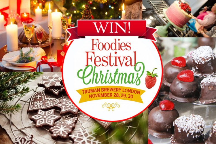 Win tickets for the Foodies Festival London
