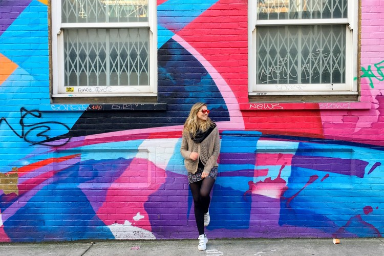 Machedavvero.it - a weekend in East London, Columbia Road Flower Market, street art and family life